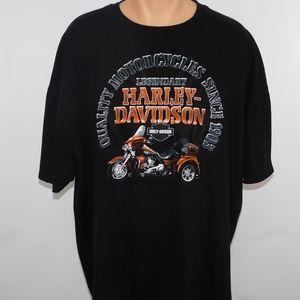 Harley Davidson crew neck short sleeve tee. 3XL